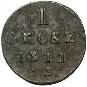 Księstwo Warszawskie, Grosz 1811 I.S.