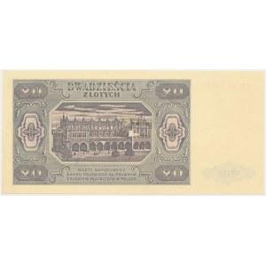 20 złotych 1948 - HG