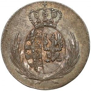 Księstwo Warszawskie, 5 groszy 1812 I.B. - data duża, szeroko
