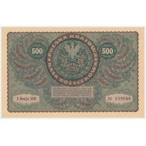 500 mkp 1919 - I Serja BB