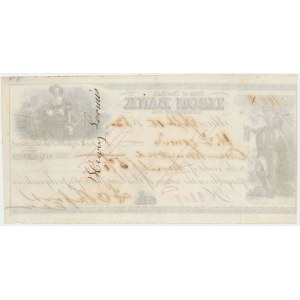 State od New York, Ilion Bank - Check, 19th Century