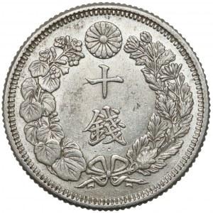 Japonia, Meiji, 10 sen (1873-1906)