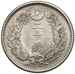 Japonia, Meiji, 20 sen (1873-1905)