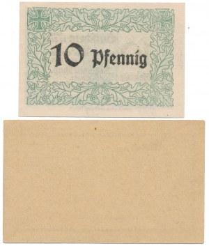 Schubin (Szubin), 2x 10 pfg 1917-1918 (2szt)