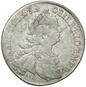 Austria, Franciszek I, 15 krajcarów 1749 KB, Kremnica
