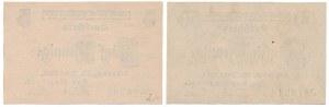 Schroda (Środa), 5 i 50 pfg 1917 (2szt)