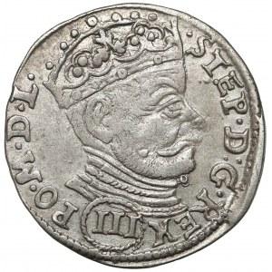Stefan Batory, Trojak Wilno 1581 - (III) - rzadszy
