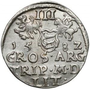 Stefan Batory, Trojak Wilno 1582 - ładny