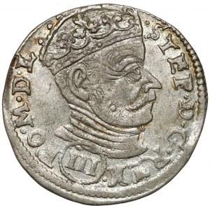 Stefan Batory, Trojak Wilno 1580 - (III) - b.ładny