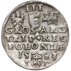 Stefan Batory, Trojak Olkusz 1583 ID - bardzo ładny