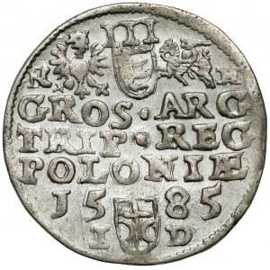 Stefan Batory, Trojak Olkusz 1585 NH - Howel - ŁADNY