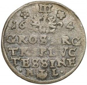 Śląsk, Fryderyk Wilhelm, Trojak Cieszyn 1624 HL - bardzo rzadki