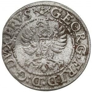 Prusy, Jerzy Fryderyk, Szeląg Królewiec 1586 - RZADKI