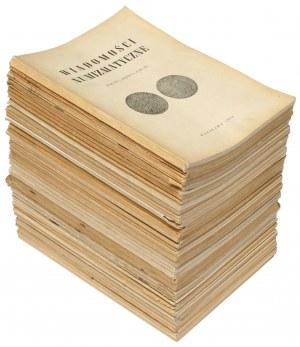 Wiadomości Numizmatyczne 1957-1972
