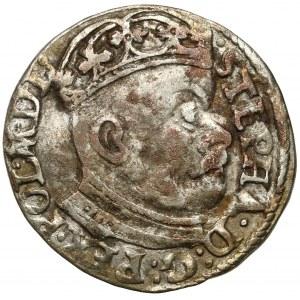 Stefan Batory, Trojak Olkusz 1583 ID - bez krzyżyka
