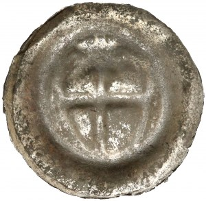 Zakon Krzyżacki, Brakteat - Tarcza z krzyżem i gwiazdą (1307-1318) - naśladownictwo?