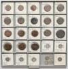 Rosja carska, ZBIÓR miedziane i srebrne monety (125szt)