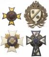 Plansza z KOPIAMI odznak Piechoty (73szt)