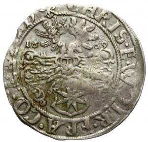 Waldeck Grafschaft, Christian und Wolrad IV., 3 Kreuzer 1609