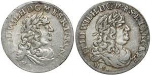 Brandenburg-Preussen, Friedrich Wilhelm, 6-Gröscher 1679 und 1682