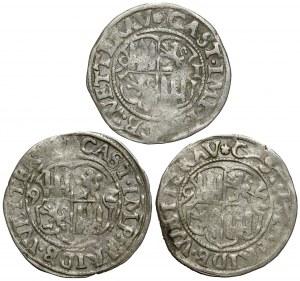 Hessen-Friedberg, 2 Krezuer 1591 und 1592 (3szt)