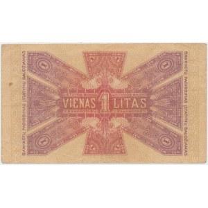Lithuania, 1 Litas 1922 - November issuse