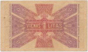 Litwa, 1 Litas 1922 - listopad