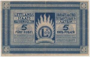 Latvia, 5 Rubli 1919 - C