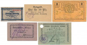 Wielkopolska - zestaw notgeldów (5szt)