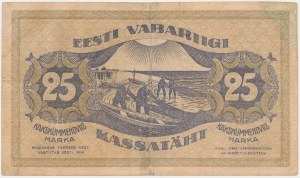 Estonia, 25 Marka 1919