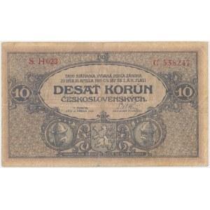 Czechosłowacja, 10 Korun 1919