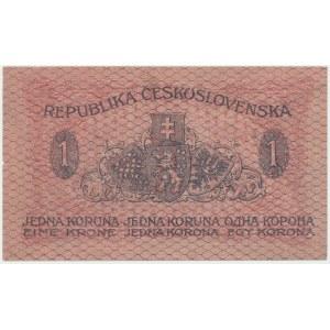Czechosłowacja, 1 Koruna 1919