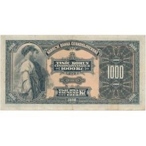 Czechoslovakia, 1.000 Korun 1932 - C