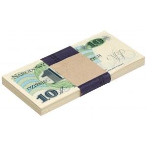 Paczka bankowa 10 złotych 1982 - T