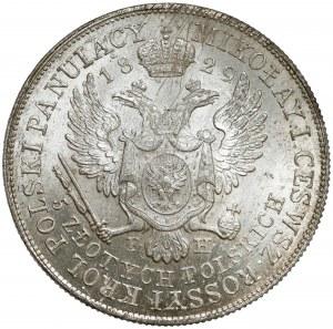 5 złotych polskich 1829 FH - piękne