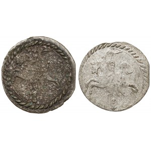 Zygmunt III Waza, Dwudenar Wilno 1611, zestaw (2szt)