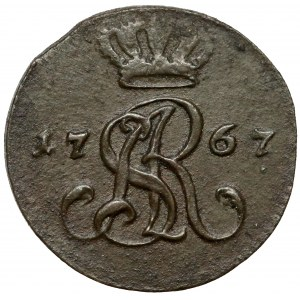 Poniatowski, Półgrosz 1767-G, Warszawa