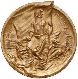 Medal Rewolucja 1905 - Ku uczczeniu krawej walki i jej ofiar