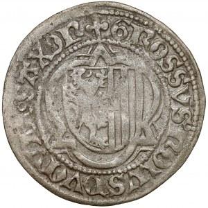 Saschen, Friedrich III. und Albecht und Johann, 1/2 Groschen