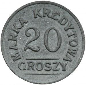 Kraków - Rakowice, 8 Pułk Ułanów Poniatowskiego, 20 groszy