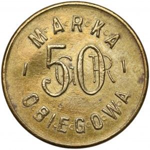 Przemyśl, 38. Pułk Strzelców Lwowskich, 50 groszy