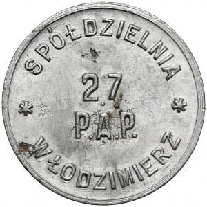 Włodzimierz, 27. Pułk Artylerii Polowej, 1 złoty