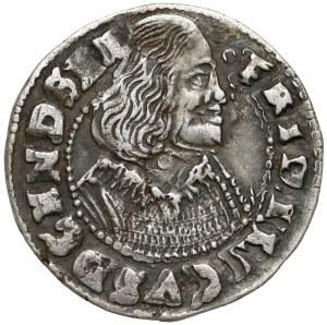 Schleswig-Holstein-Gottorp, Friedrich III., 1/16 Taler 1653