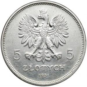Nike 5 złotych 1931 - rzadka
