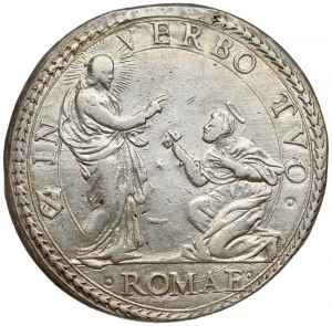 Watykan, Innocenty X, Piastra 1646 (anno II), Rzym - rzadkość