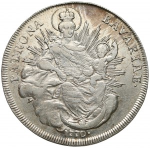 Bayern, Maximilian III. Joseph, Taler 1770
