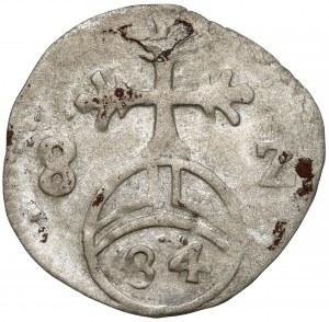 Regensburg, 1/84 Gulden (Pfennig) 1582