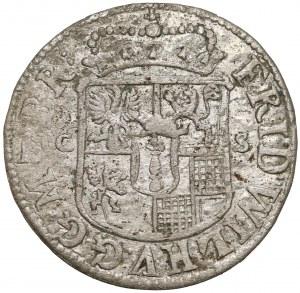 Brandenburg-Preussen, Friedrich Wilhelm, 1/12 Taler 1679 CS, Berlin