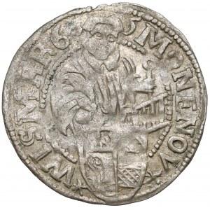 Wismar-Stadt, 1/16 Taler 1606