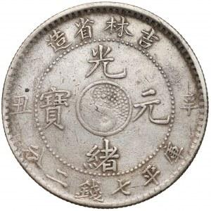 Chiny, Kirin, Yuan rok 38 (1901)